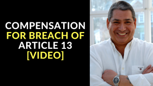 Compensation for Breach of Article 13