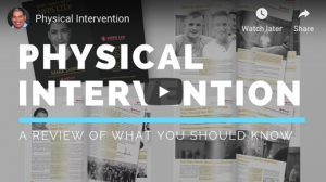 Physical Intervention - What You Should Know When Choosing Physical Intervention Training [Video]