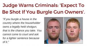 Judge Warns Criminals