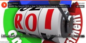 Would You Invest £900 a Year To Ear £20,000 a Year