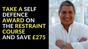 Take a Self-Defence Award on The Restraint Course and Save £275