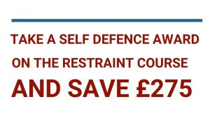 Take a Self Defence Award on The Restraint Course and Save 275 Pounds [Video]