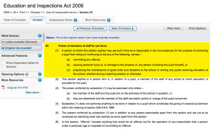 Section 93 of the Education and Inspections Act 2006