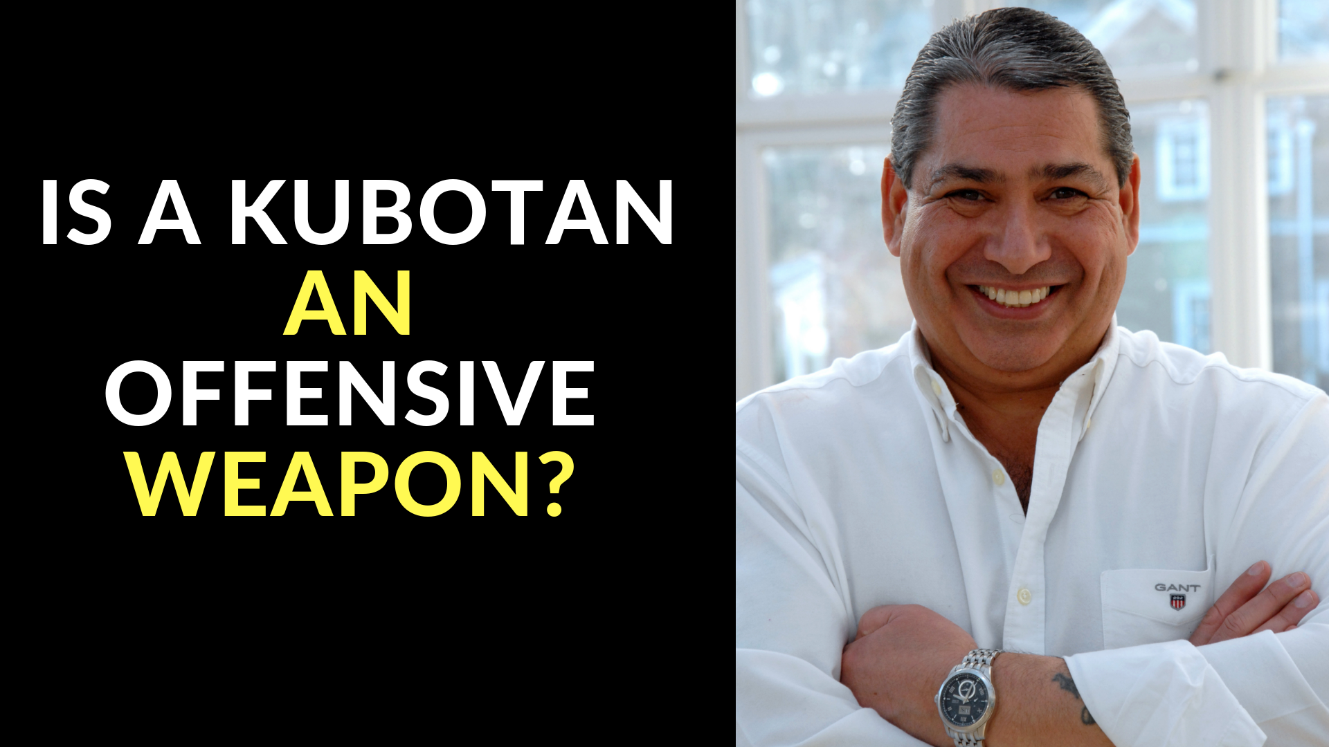 Is a Kubotan An Offensive Weapon_