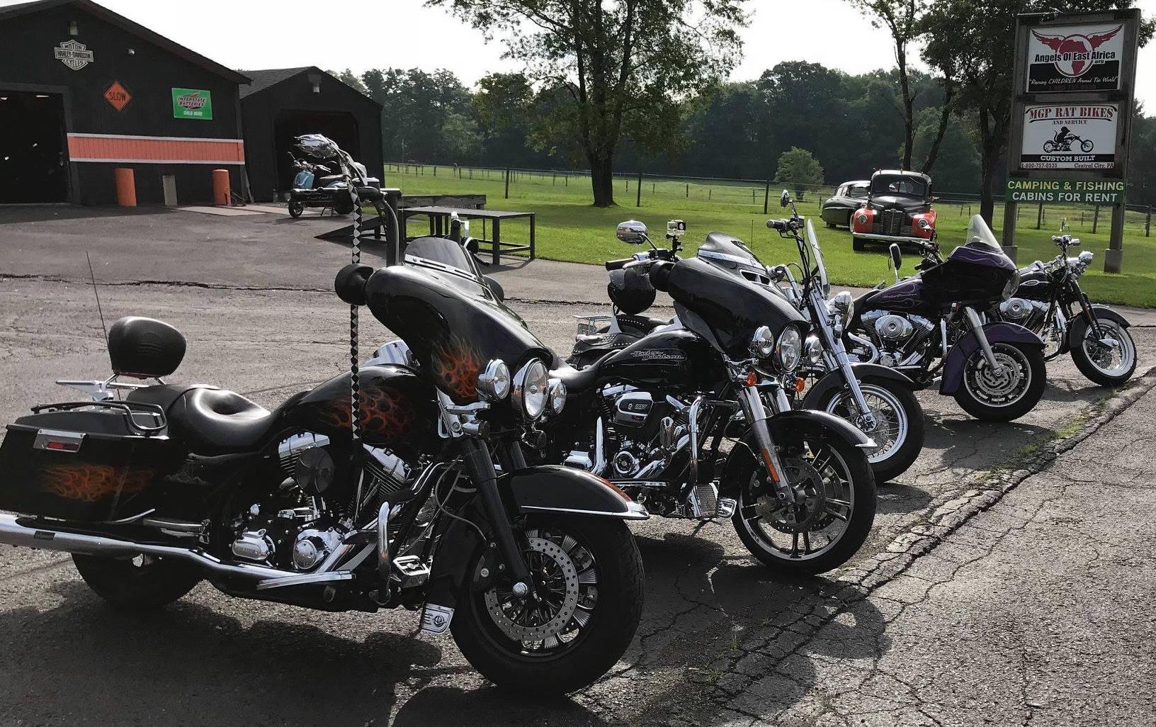 Some of Sam's Bikes