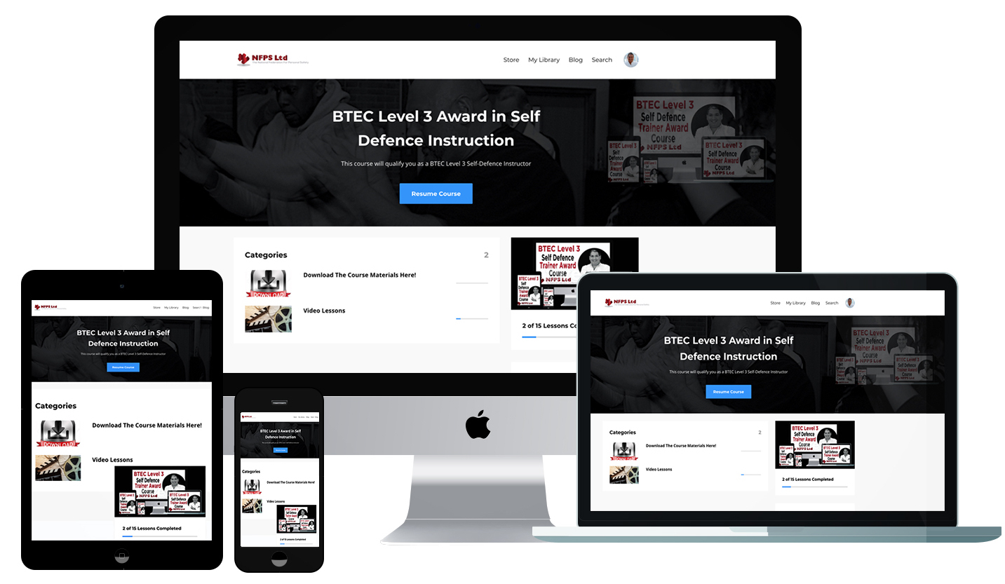 BTEC Level 3 Award In Self-Defence Instruction