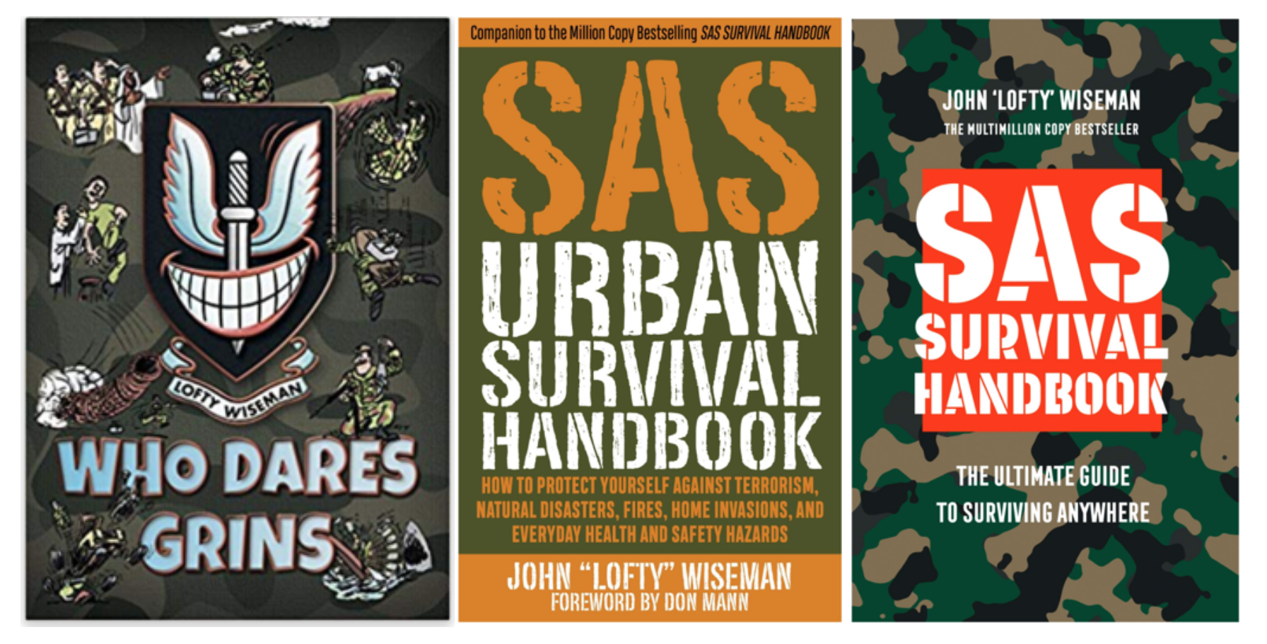 Lofty Wiseman's SAS Books