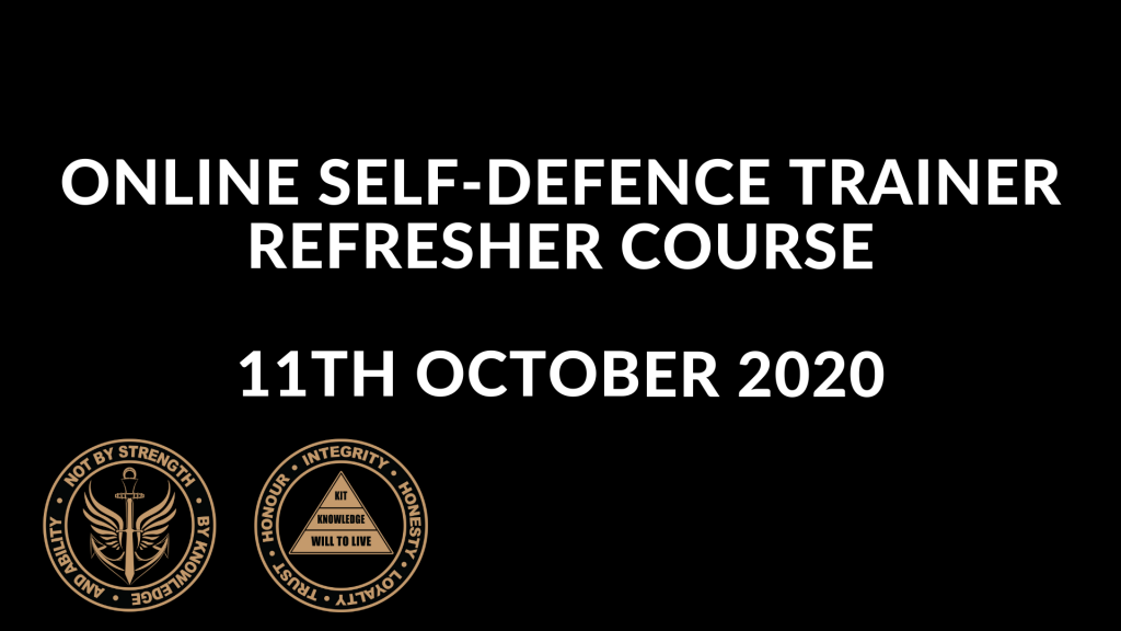 Online Self Defence Trainer Refresher Course 2020