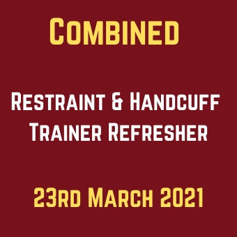 Combined Restraint & Handcuff Trainer Refresher 23rd March (1)