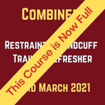 Combined Restraint & Handcuff Trainer Refresher 23rd March