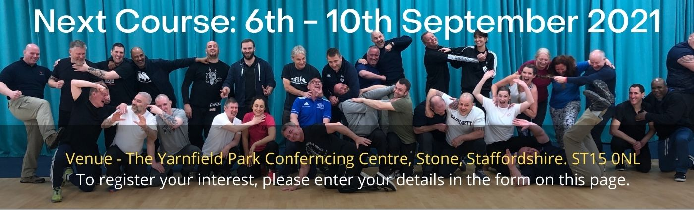 Physical intervention Trainer Training Dates Sep 2021