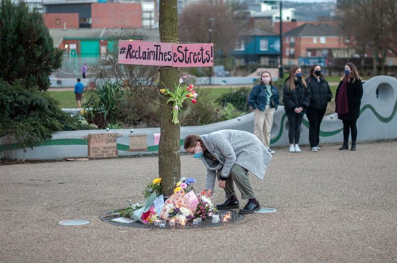 Sarah Everard vigil in Sheffield