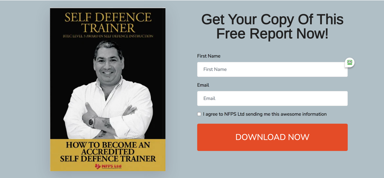 Self Defence Free Report